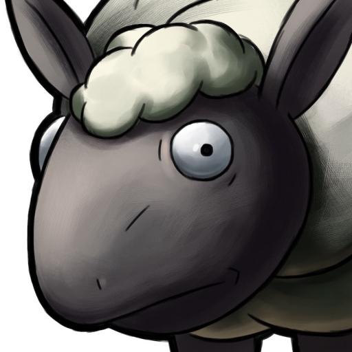 Sheep Enemy Concept