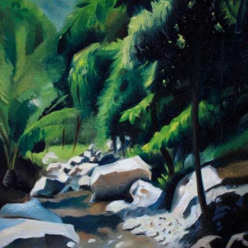 Jungle River Study
